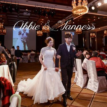 Abbie & Vaness from Taipei 大直典華婚禮