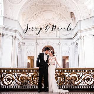 舊金山海外婚紗 Jerry & Nicole