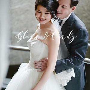 香格里拉台北遠東  旅美新人Glenn&Cindy