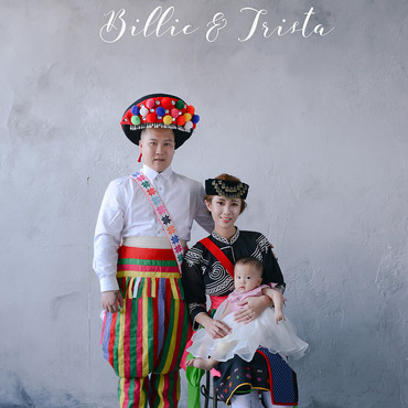 Billie&Trista的阿美族原住民婚紗