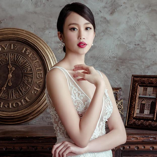 旅美新娘YuSan的單人婚紗