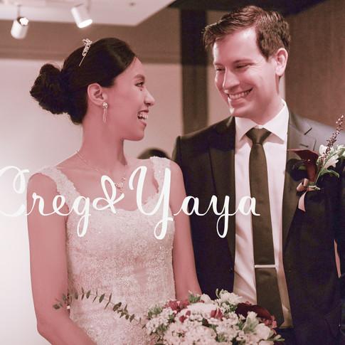 Creg&Yaya from Germany 晶華酒店婚禮