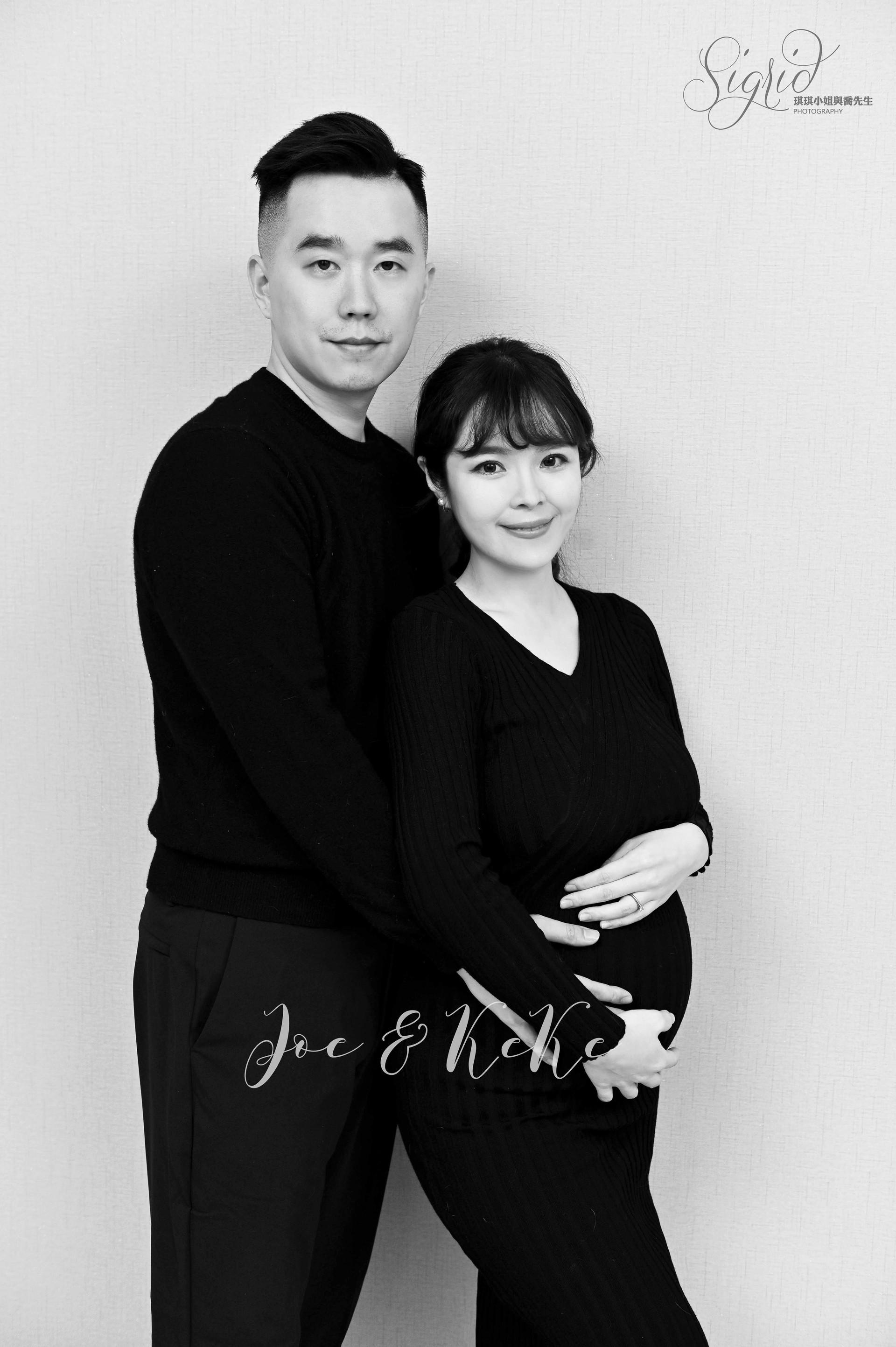 Sigrid Chien Photography琪琪小姐與喬先生 我們的30週孕婦寫真