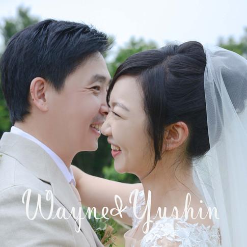 偉忠 & 于心 美式婚禮