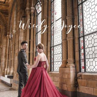 倫敦海外婚紗 Wisely & Joyce