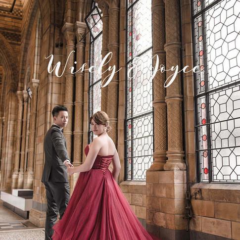 Joyce&Wisely倫敦海外婚紗