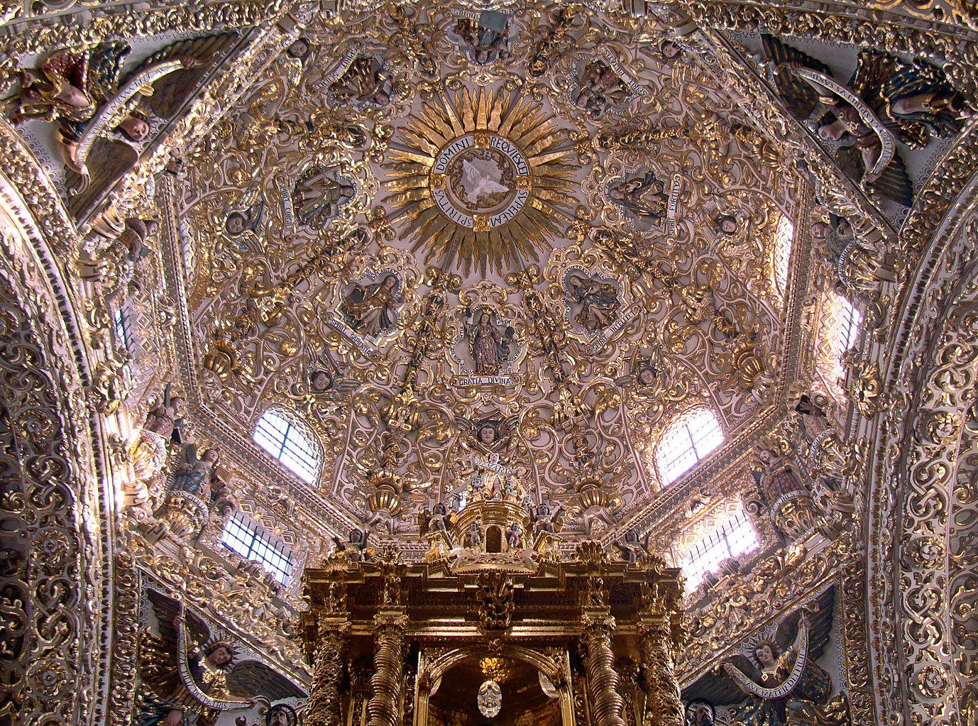 Cúpula de la Capilla del Rosario