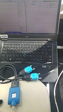 INCA calibration setup