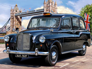 ロンドンのタクシードライバー