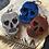 Thumbnail: Skull Metal Effect Key Chain