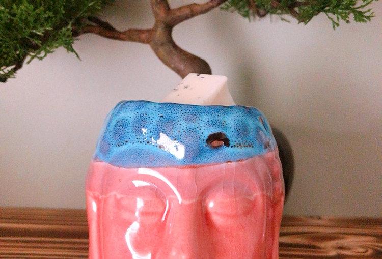 Rose & Teal Buddha Wax Melt Warmer