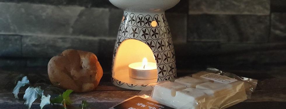 White Eden wax melt warmer