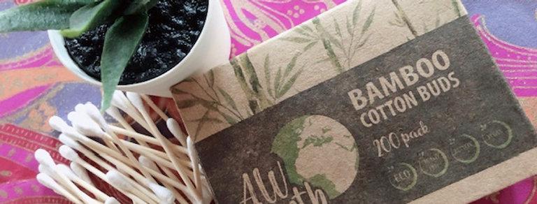 Bamboo Cotton Buds (box 200)