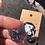 Thumbnail: Black Glitter Cat Earrings