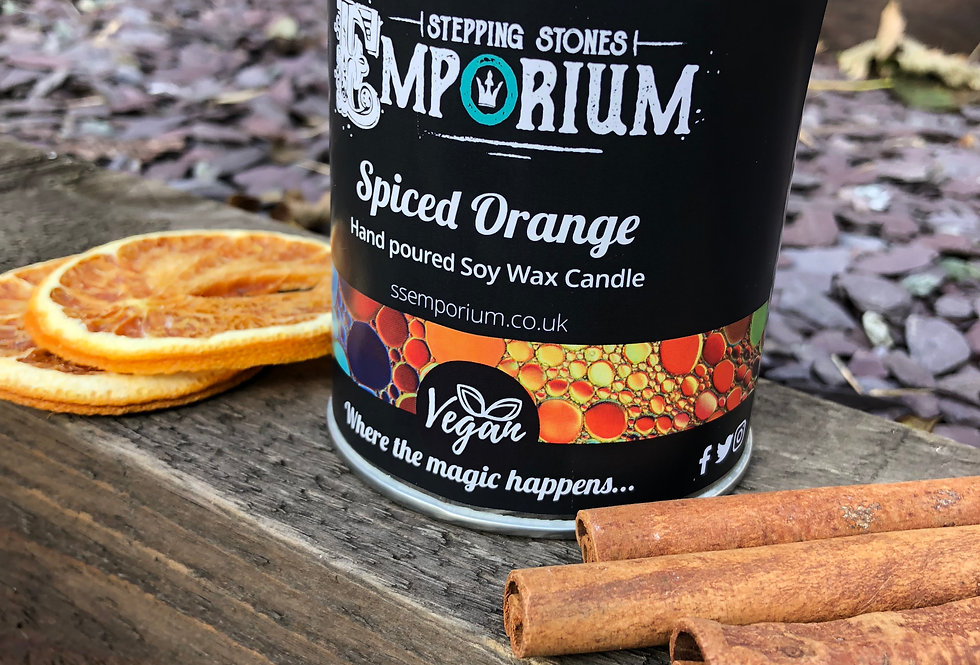 Spiced Orange Soy Container Candle