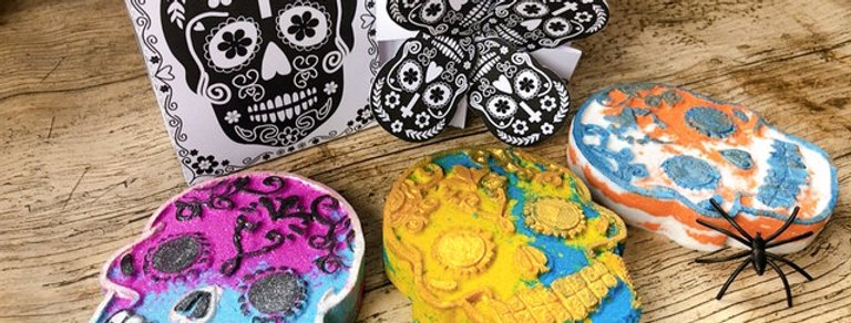 """""""Day of the Dead"""" Creative Colouring Gift Box Collection"""