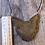 Thumbnail: Sugar skull sphinx cat wall hanger
