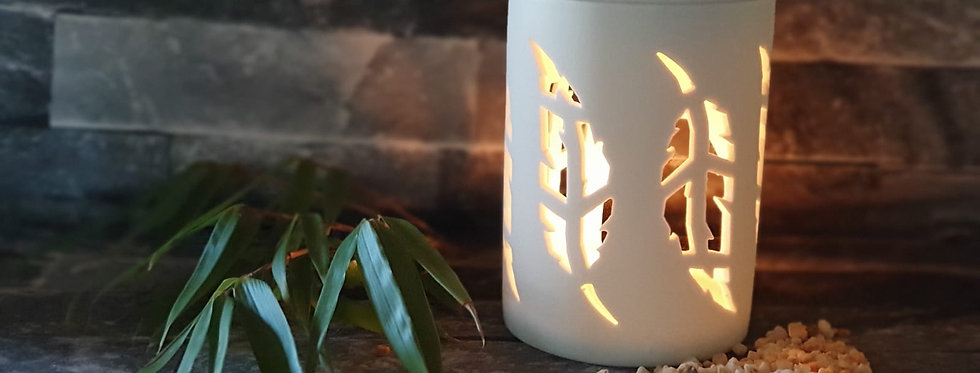 White Feather Wax melt warmer
