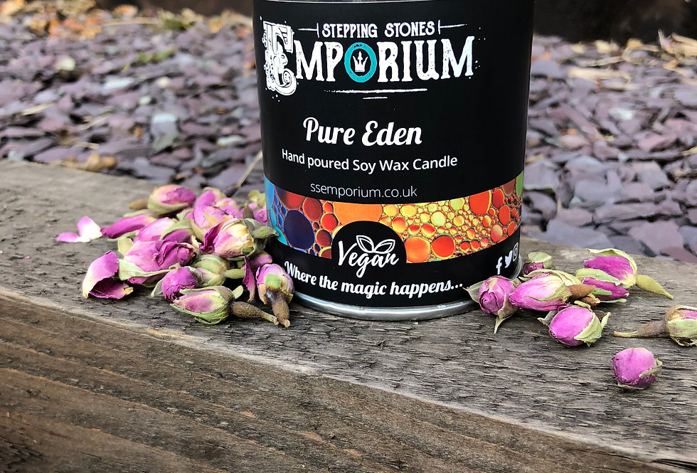Pure Eden Soy Container Candle