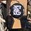 Thumbnail: Black Glitter Coffin Earrings