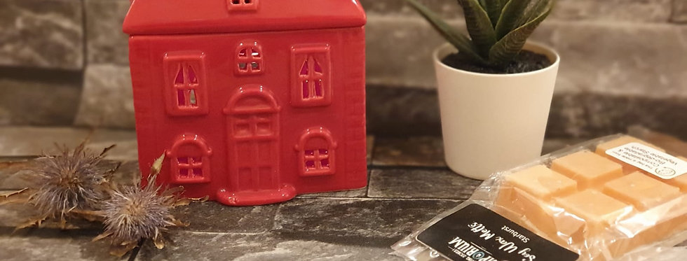 Little Red House Wax melt warmer