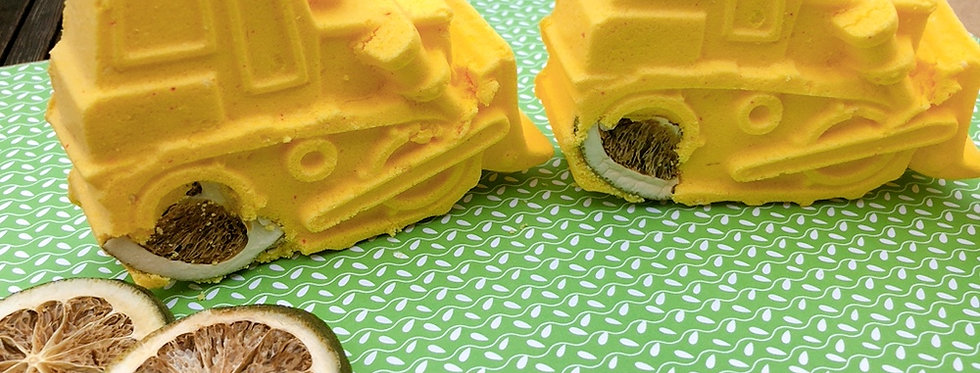Big Yellow Digger (Lemon Verbena) Bath Bomb
