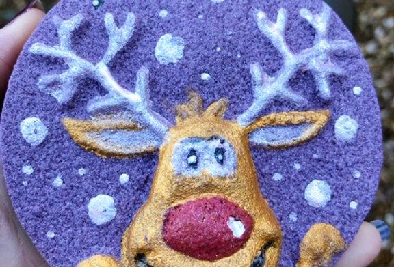 """Rudolph"" Disc Bath Bomb"