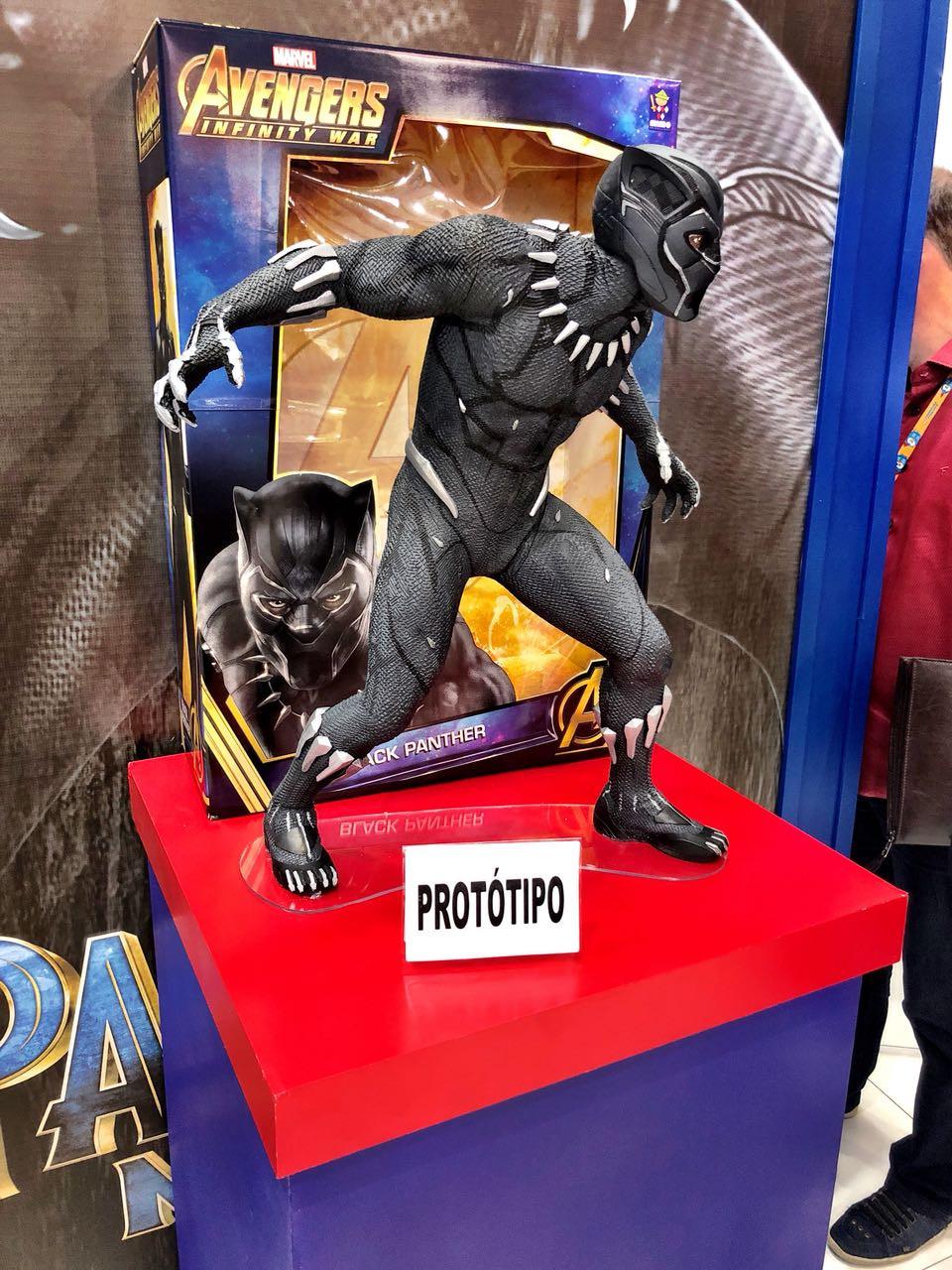 prototipo pantera negra impressão 3D
