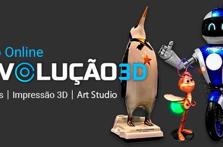 3DTEK - Impressões 3D lança curso online inovador de Impressão 3D, Art Studio e Negócios