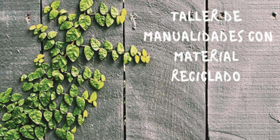 TALLER DE MANUALIDADES CON MATERIALES RECICLADOS (4 a 6 años)