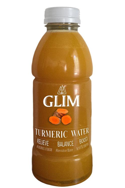 Glim Turmeric Water- 12 bottles