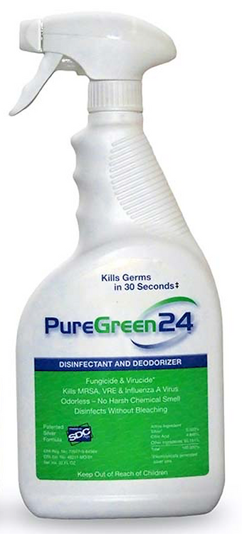 PureGreen24 - 32oz SprayBottle (EPA ListN)
