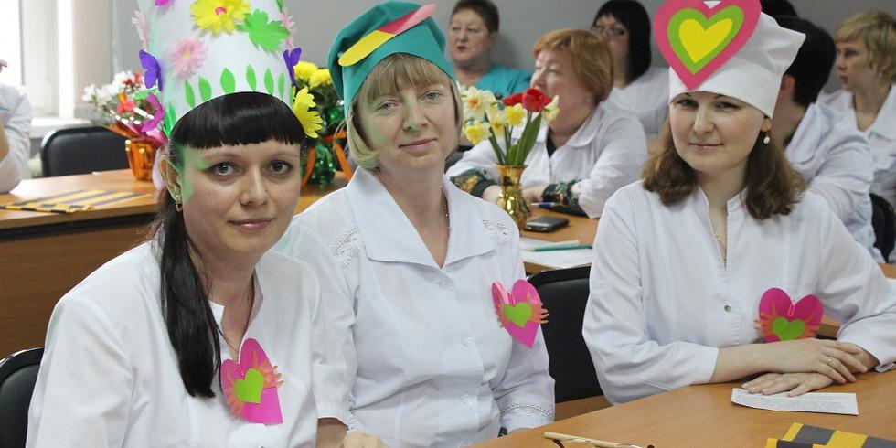 Первый фестиваль творчества среди медицинских сестер