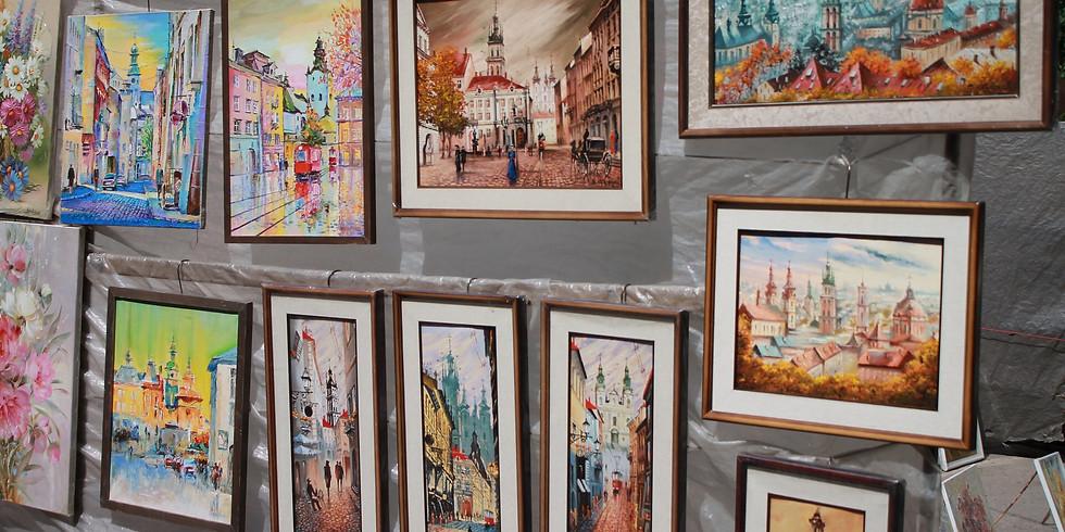 Выставка картин, постеров, рисунков и фотографий на тему: «Я люблю мою Москву»