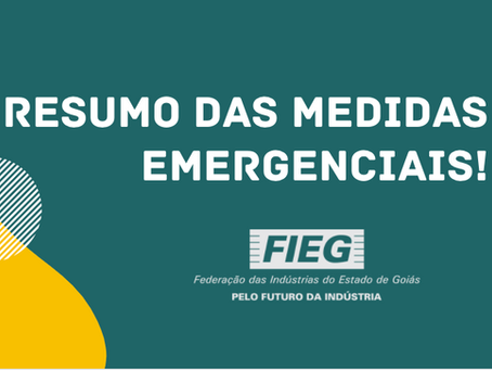 Confira um resumo das Medidas Emergenciais com Base Legal
