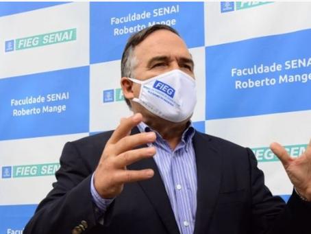 Sandro Mabel destaca ações da Fieg no combate ao coronavírus