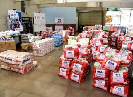 Fieg + Solidária ultrapassa marca de 100 instituições atendidas e doações chegam a 1 milhão de reais