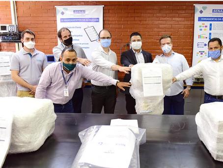 Senai Goiás entrega mais respiradores recuperados