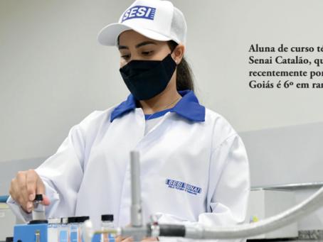Educação Profissional: Cursos técnicos do Senai Goiás entre os melhores do País