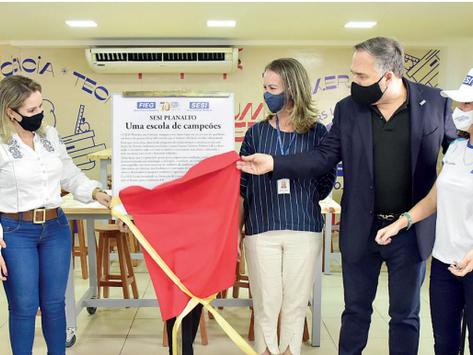 Sesi Goiás inaugura espaço maker em 13 escolas no Estado