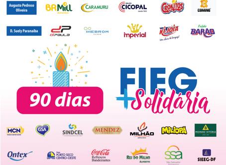 Completamos 90 dias de solidariedade!