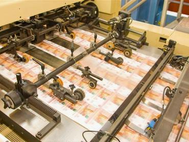 Дыра в российском бюджете превысит объём ФНБ: выход в печатном станке