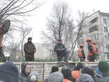Жители обороняющегося от сноса по *реновации* квартала в Кунцево обратились к независимым депутатам