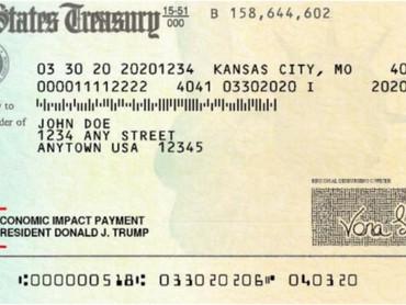88 миллионов американцев уже получили *короновирусные* выплаты - средний чек составил $ 1791