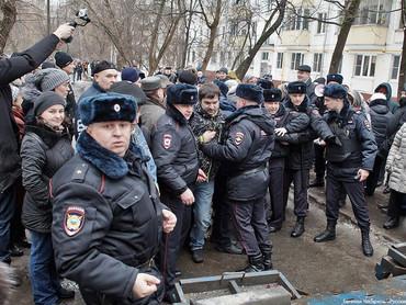 Испанские СМИ о строительных захватах в Москве - столице городских эксцессов