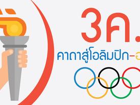 คาถา 3 ค. สู่โอลิมปิก-อาชีพ