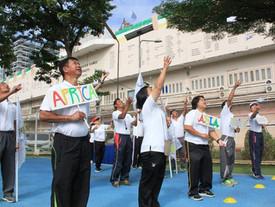 """จัดอบรม """"ขยับกาย ขยายสมอง สู่การค้นพบ: การปลูกฝั่งและบ่มเพาะค่านิยมโอลิมปิก"""