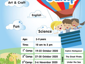 Kids Camp @ Pingu's English School, Central World