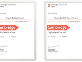 ร.ร.ภาษาอังกฤษพิงกุ ได้รับการแต่งตั้งเป็น Cambridge English Preparation Centre