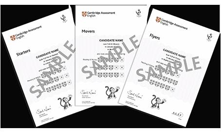 สอบวัดระดับภาษาอังกฤษ Cambridge English: Young Learners